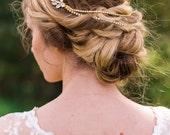 Crystal Bridal Hair piece Opal Crystal Hair piece Bridal Hair piece Bridal Accessories Wedding Hair piece crystal comb bridal comb #151