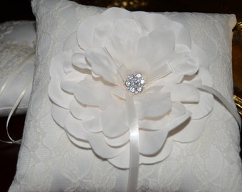 Only 2 left! Ring Bearer Pillow