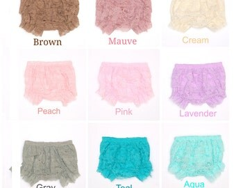 Newborn lace bloomers, Baby bloomers, Lace ruffle diaper cover, Diaper cover, Baby bloomers, Baby photo Prop