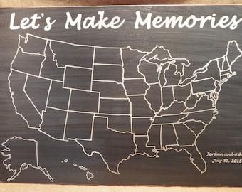 Travel Map United Cool Maps, - World Map Database