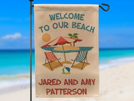 Https Www Etsy Com Listing  Outdoor Beach Home Sign Beach Name Sign