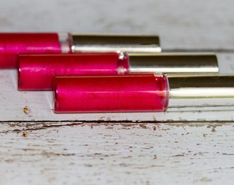 War Paint - Red Vegan Lip Gloss With Lime Essential Oil