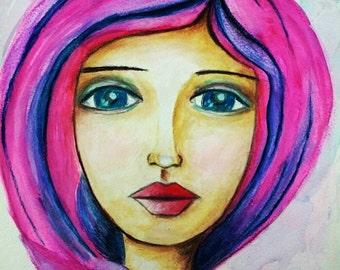 Claudia ~ Art Print