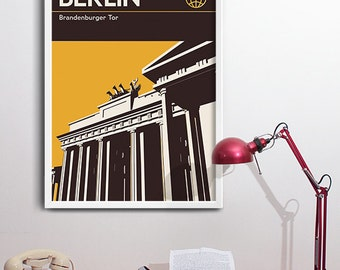 Berlin Graphic Art Print