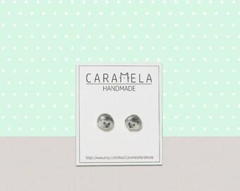 Hedgehog Stud Earrings / animal stud / animals earring/ Hedgehog earrings