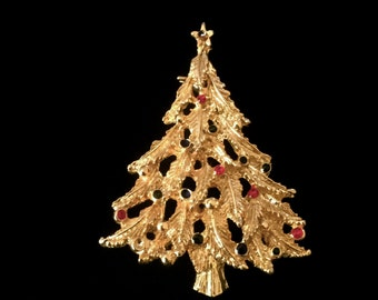 Vintage Christmas Tree Brooch              VG2319