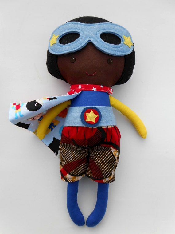Super Hero Toys For Boys : African american superhero boydoll with by