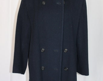 Preston & York Double Breasted Wool Coat