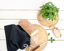 Bread Bag - Natural Linen Products Bag - Natural Linen Bag - Storage Bag
