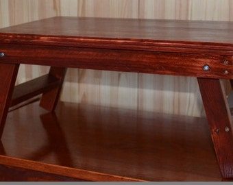"Wooden Laptop table - TM ""WoodMakerInGarage"""