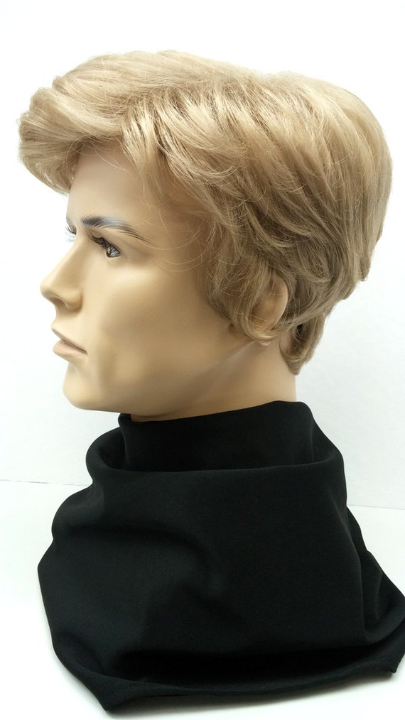 Short Blonde Wig Mens 97