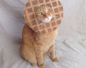 Waffle Costume for Cats