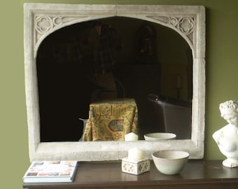 GOTHIC OVER MANTEL mirror