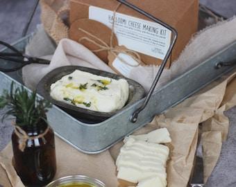 Halloumi Cheese Making Kit | Omnom Cheese Making