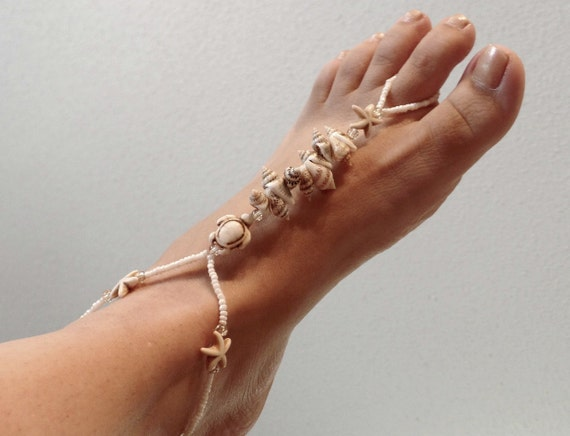 Beach Barefoot Sandals, Soleless Sandals, Sexy Shoes, Handmade, made to order, wedding, bottomless shoes, sexy