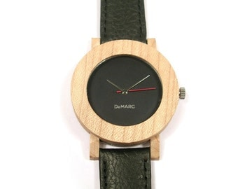 Maple wood watch