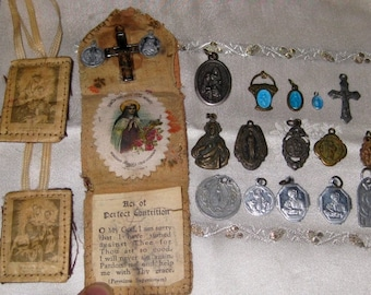 Catholic Medals, Scapulars, and More