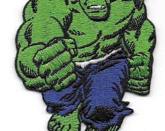 Hulk full body emroidered patch