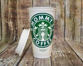 Mommy's Coffee Cup • Grandma's Coffee Cup • Tumbler • Travel Mug (Genuine Starbucks with Bonus) [mother's day gift for mom idea]