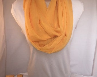 Infinity Scarf: The Mustard Seed