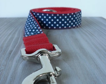 Dog Leash, DOTS collection, width: 1 inch
