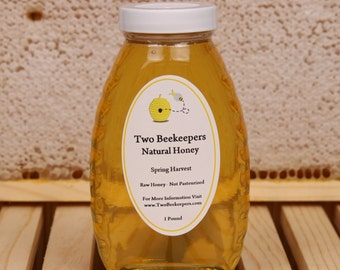 Two Beekeepers Raw Spring Honey