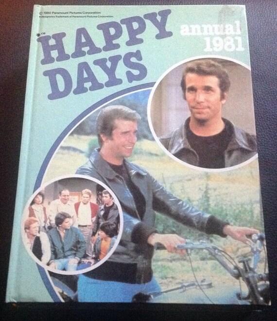 Risultati immagini per HAPPY DAYS ANNUAL 1981