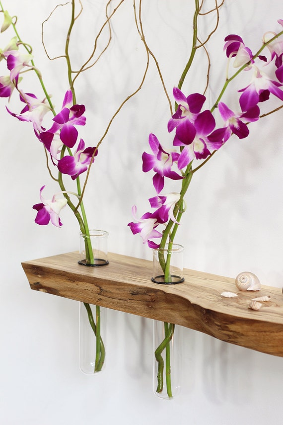 Floating shelves altar vases wall art feng by for Altar wall decoration