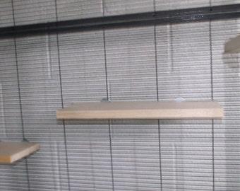 Chinchilla Ledge Set - No Poop Guard