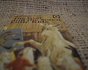 The Wolf and the Seven Little Kids. Vintage Ladybird Book. Well Loved Tales. Series 606D. 1970