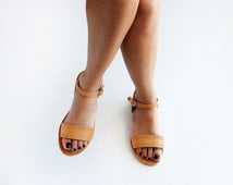 ZOE , Sandals, Leather sandals, Greek sandals, Womens sandals oxford style shoes