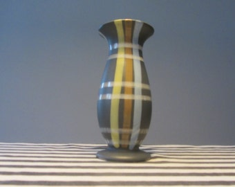 Mid Century Modern Ceramic Vase 3575/3 - Made in Western Germany - 1950s
