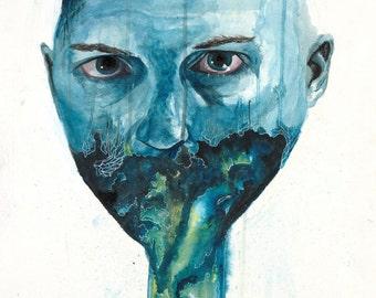Water color print
