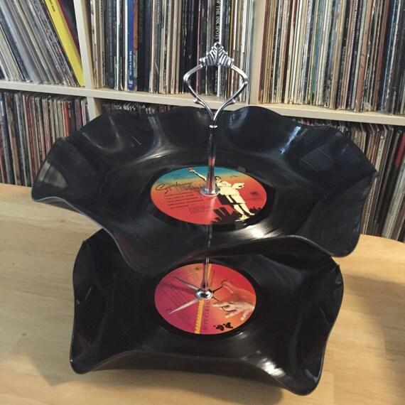 Supertramp 2 Tier Stand Vintage Vinyl Lp Record Breakfast