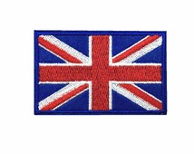 Union Jack patch United Kingdom flag patch British flag patch patch  iron on patch sew on patch  8*5cm A138