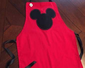 Mickey Mouse Toddler Apron