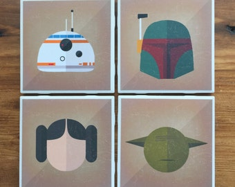 Star Wars Coasters A- Ready to ship!