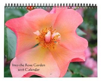 Into the Rose Garden Calendar 2016