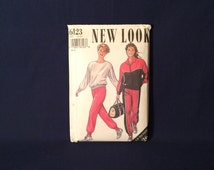 New Look 6123 Vintage Track Suit Sewing Pattern Plus Size 14-26 Factory Folded