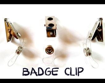 BADGE CLIP (4 CLIPS)