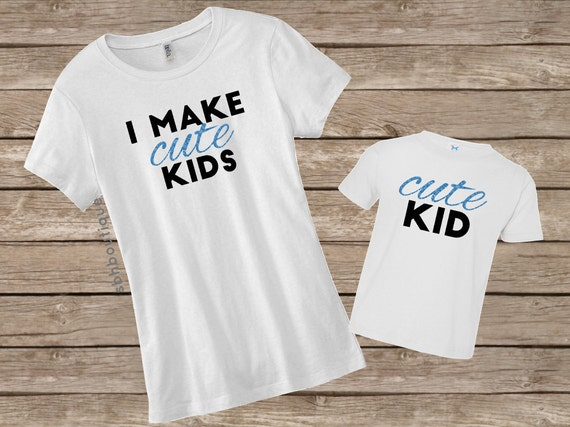Mom And Toddler Shirt Mom And Son Shirts Funny Mom Shirt
