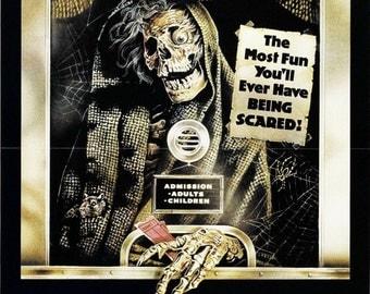 CREEPSHOW Movie Poster Horror George Romero Stephen King Cult Classic