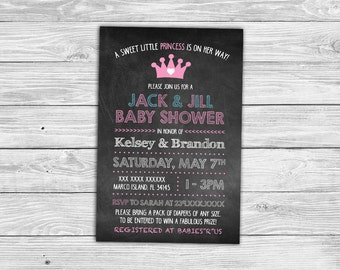 Jack And Jill Shower Etsy
