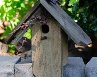 Perching Bird Birdhouse