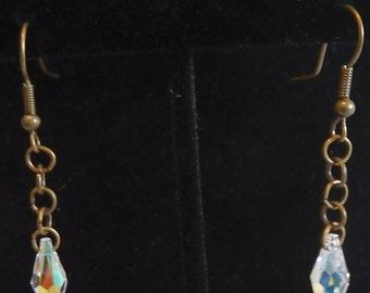 Crystal  Drop Earrings by Amira