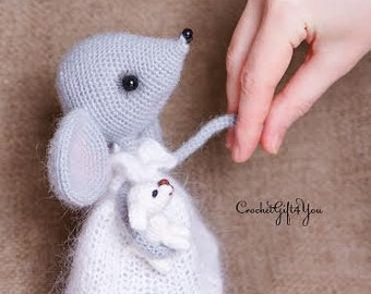 Crochet Mouse Sofia / Amigurumi