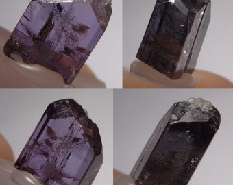 Raw TANZANITE Crystal (0, 9gr.) Tanzanite / tanzanite Crystal rough #tzn114