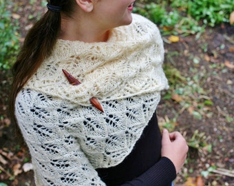 Mohair Lace Shawl Wrap