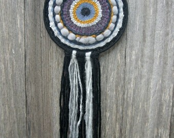 Woven Wall Hanging Dream Catcher Stormy Nights