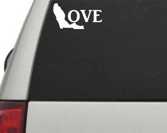 Florida Love Vinyl Decal